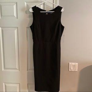 Open back XL black lulus dress brand new